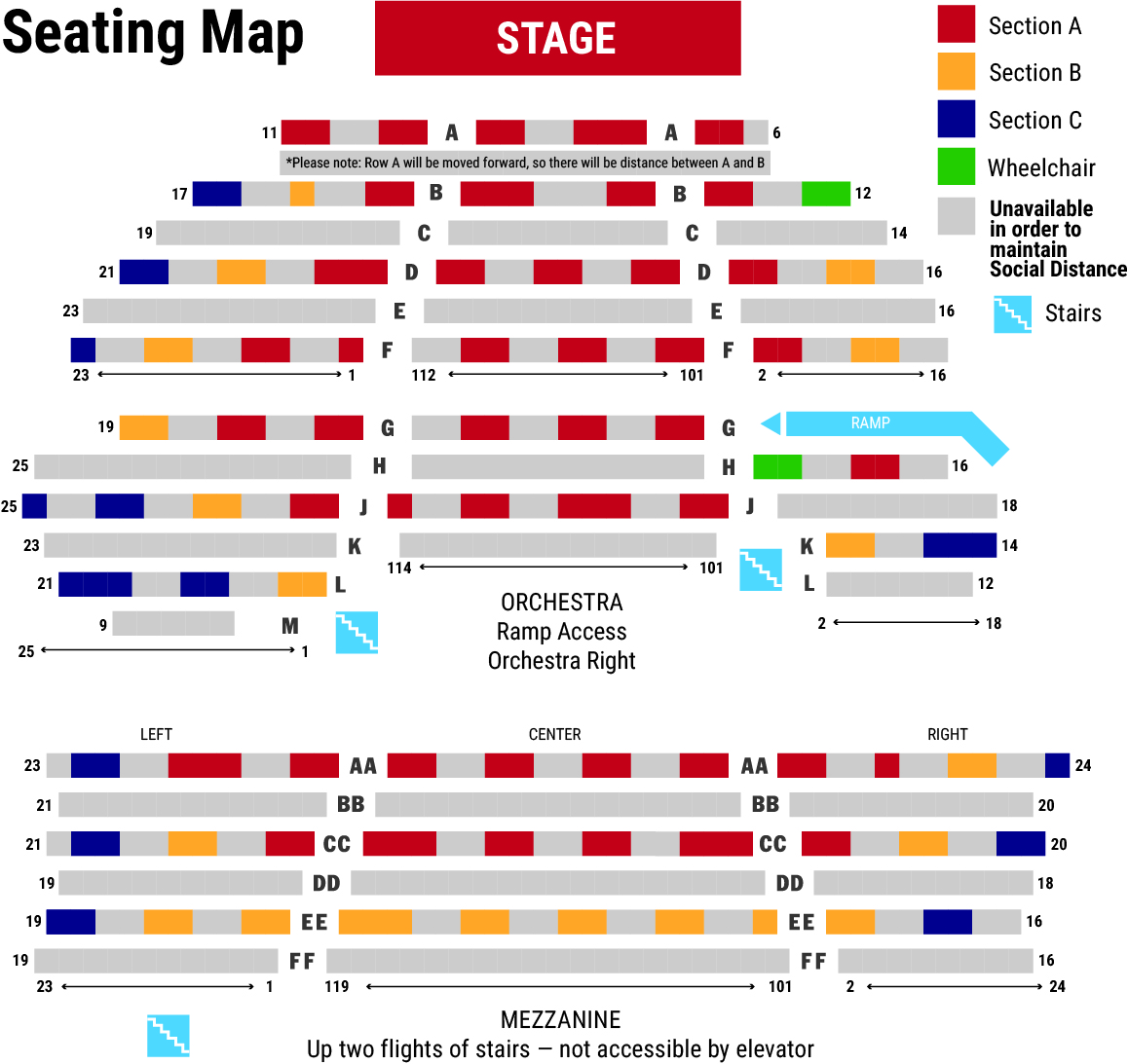 SD Seating Map