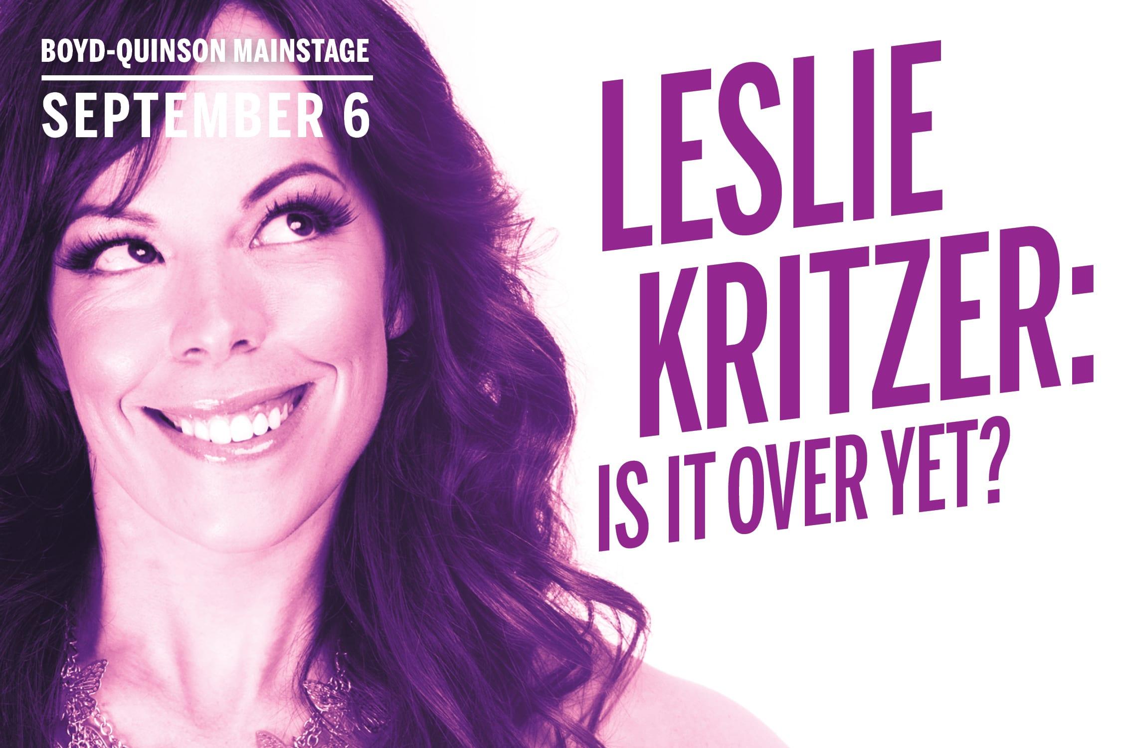 Leslie Kritzer